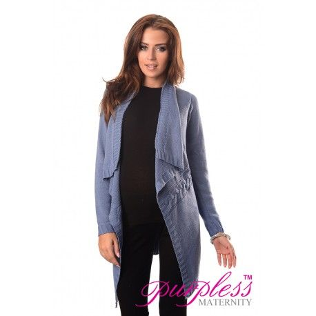 2in1 Maternity and Nursing Cascade Open Front Cardigan 9003 Jeans  Every maternity wardrobe needs a cardigan. Our 2in1 maternity and nursing long sleeve cascade open front cardigan will add a level of comfort when you feel the need to wrap up.