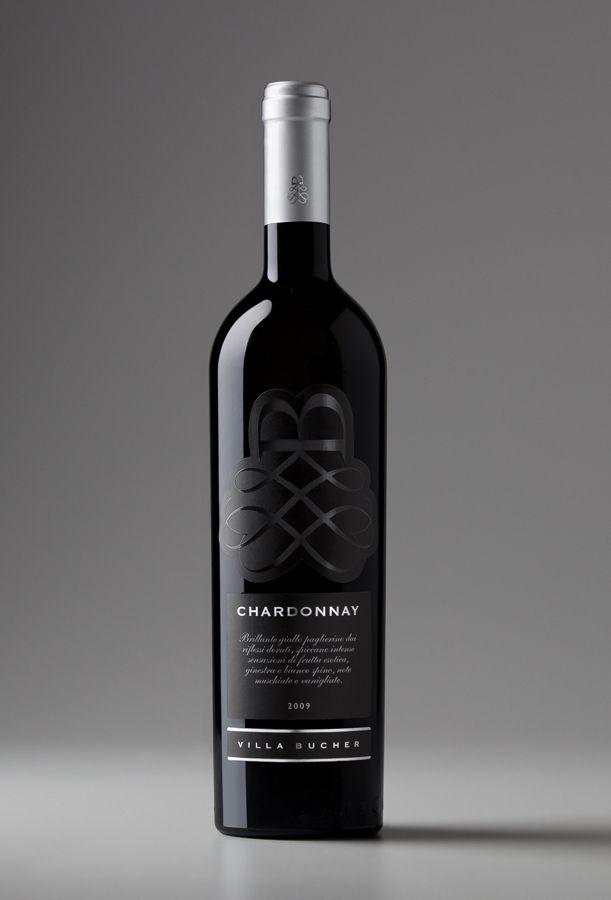Project: Villa Bucher Chardonnay Label  Art Director: Claudio Venturini  Graphic Designer: Riccardo Angelella  Agency: Key Business Perugia  Client: Villa San Venanzo