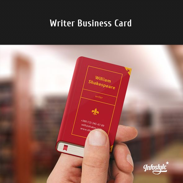 34 best Business Card Ideas for Writers images on Pinterest