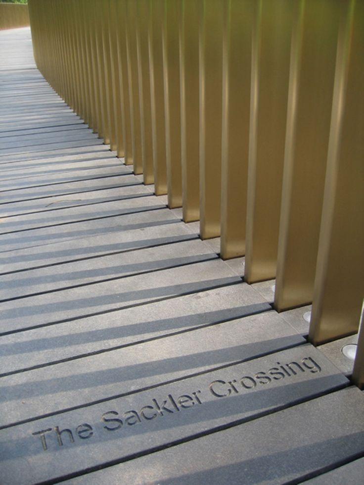 john pawson, kew gardens, Sackler crossing