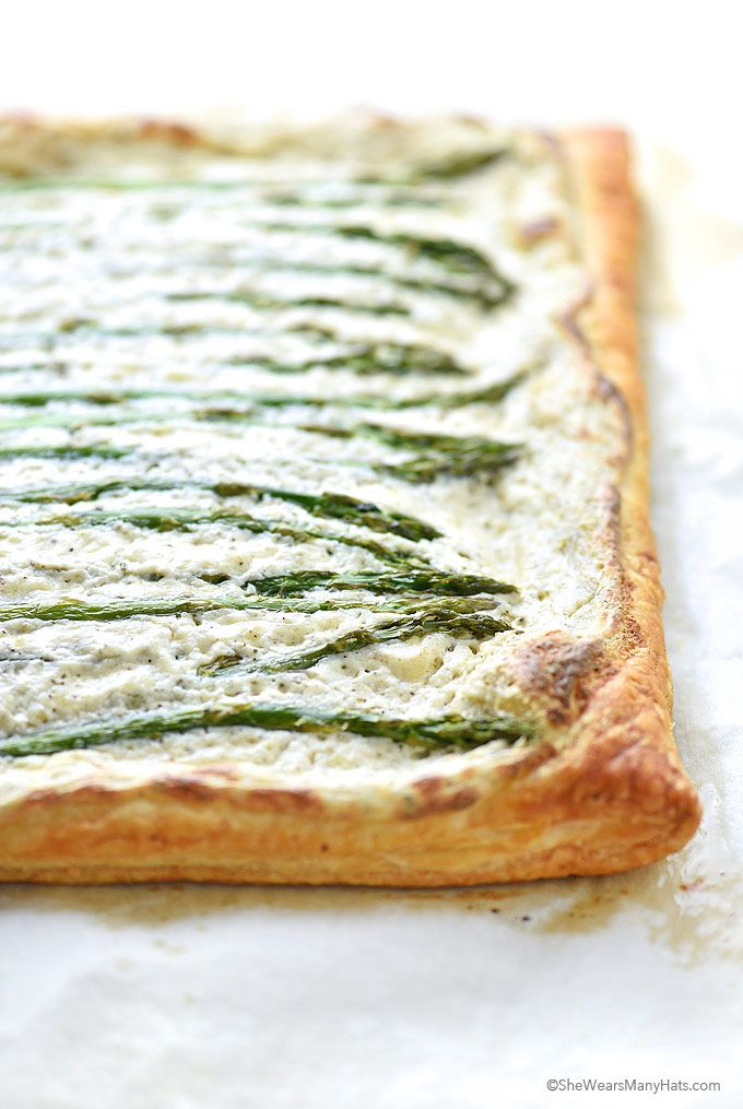 Ricotta Asparagus Tart Recipe