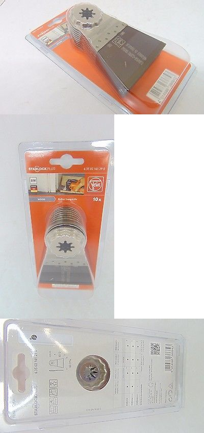 Other Power Saws and Blades 122838: Starlock Fein 63502161290 Bi-Metal Oscillating Blade (10 Pack), 2-9 16 X 2 -> BUY IT NOW ONLY: $114.99 on eBay!