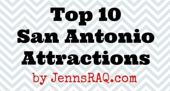 San Antonio, Texas is a wonderful tourist city. Check out my top 10 places that you just can't miss. There's so much to see and do for the whole family!