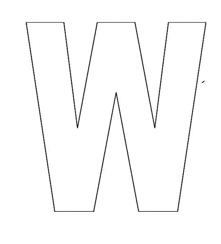 Top 25+ best Alphabet letter templates ideas on Pinterest   Letter ...