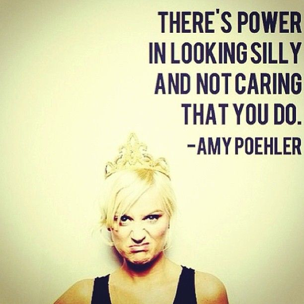 Amy Poehler #amypoehler #quote #funny #lady #silly #actress #weird #love #idol #blonde #fun #princess #crown #snl #legend #amy #poehler #a...