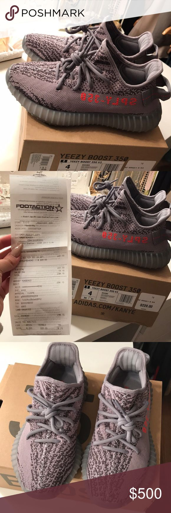 Beluga's 2.0 Yeezy's 100% authentic w/ proof of receipt! Size 4, women 5.5-6. PRICE IS FIRM. Yeezy Shoes