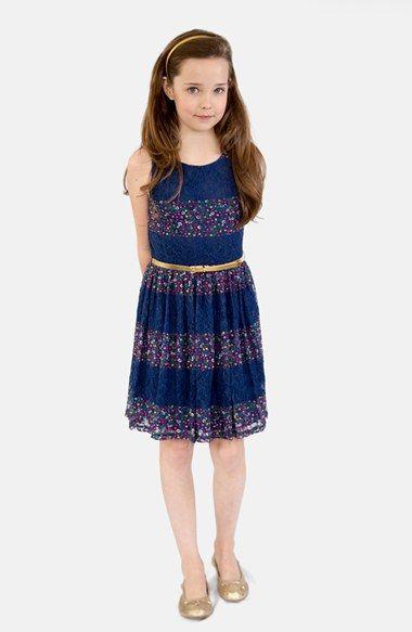 Girl's BLUSH by Us Angels Sleeveless Dress