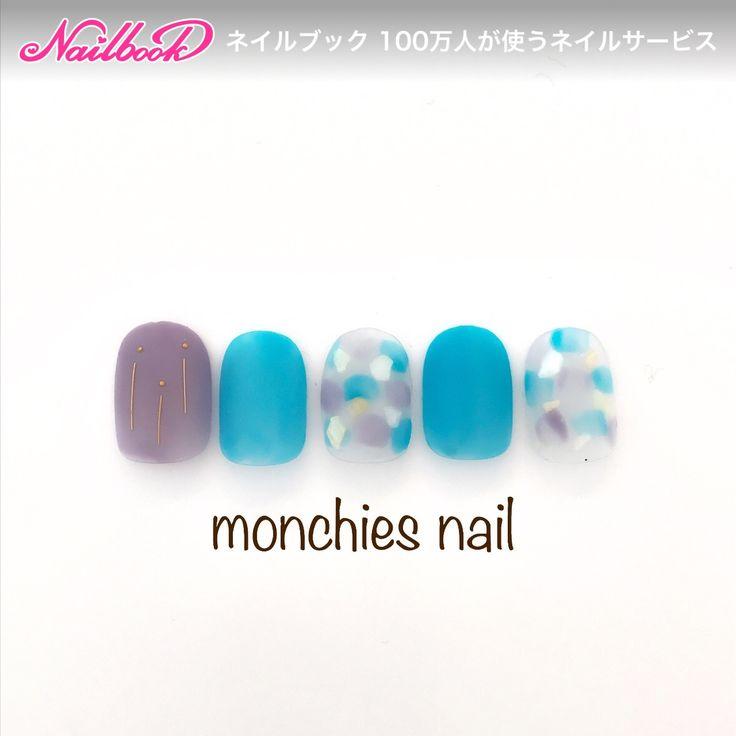 monchies_nailさんのショート,夏,海,リゾートネイル♪[2333010]|ネイルブック