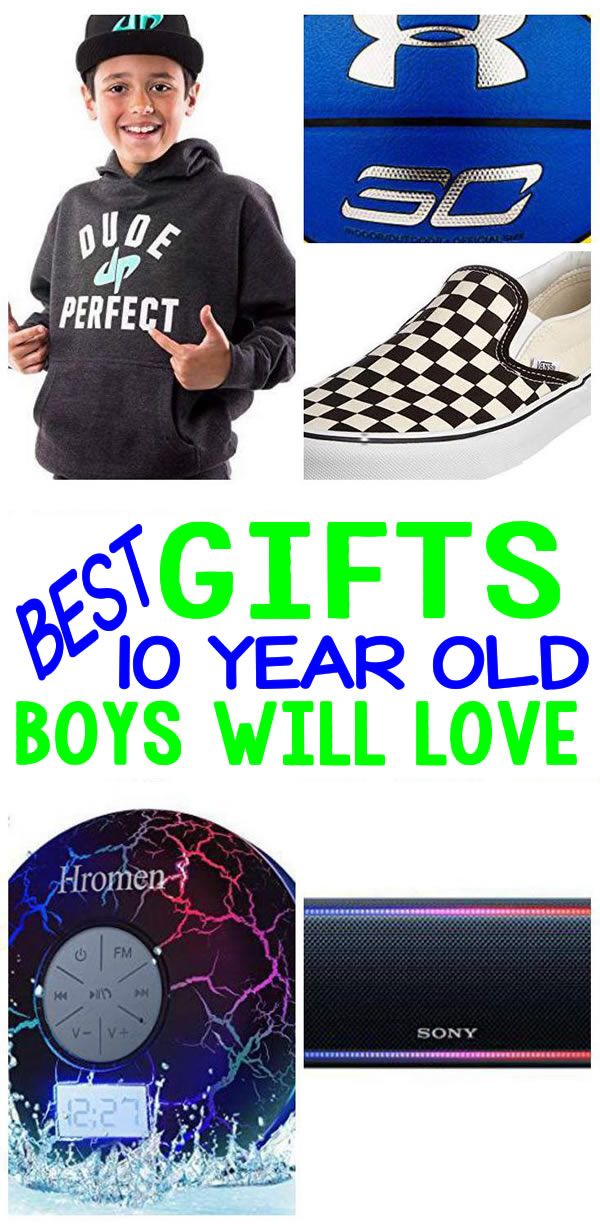 Best Gifts 10 Year Old Boys Will Love Coolest Gift Ideas For A 10th Birthday Christmas Holiday Or Anytime Of The Great Present Not Only
