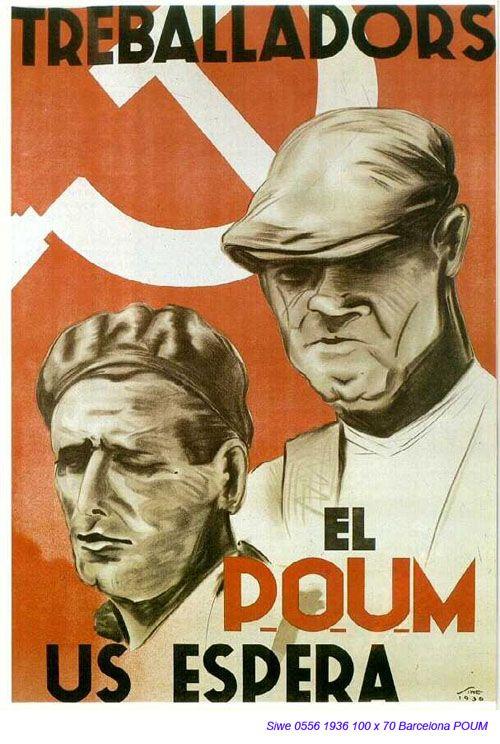 Spain - 1936. - GC - poster - autor: Siwe