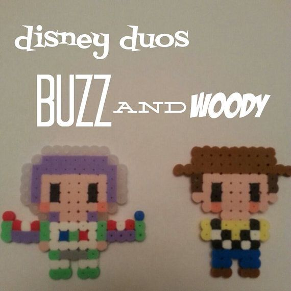 Hey, I found this really awesome Etsy listing at https://www.etsy.com/listing/189407242/disney-duos-buzz-woody-from-toy-story