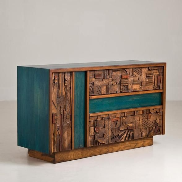 Talisman A Cabinet Designed by Lane, Altavista USA 1950s -  i love this so much!