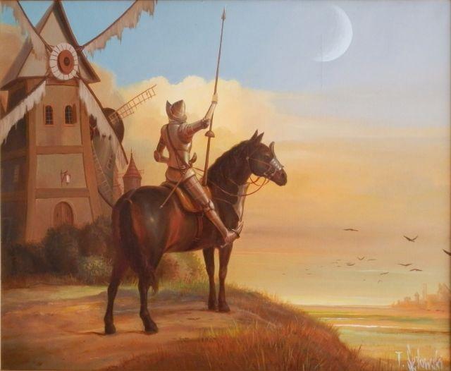 ArtGalery ° PERSONALART.PL tytuł: Donkiszoteria autor: Tomasz Sętowski http://personalart.pl/Tomasz-Setowski