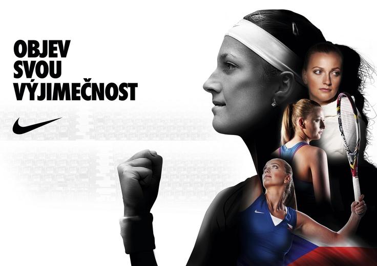 Nike, Petra Kvitová, Tenis #nike #tennis #women #kvitova #revoltapronike