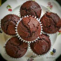 Recetas de puño y letra: Magdalenas de chocolate