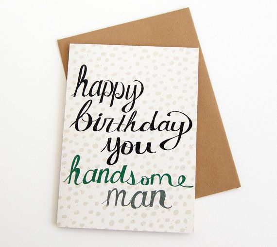 17 Best Ideas About Birthday Cards For Him On Pinterest