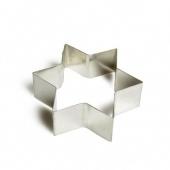 Dille en Kamille Uitsteekvorm voor koekjes, ster, vertind metaal, 5 cm