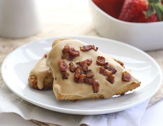 Peanut Butter & Bacon Scones