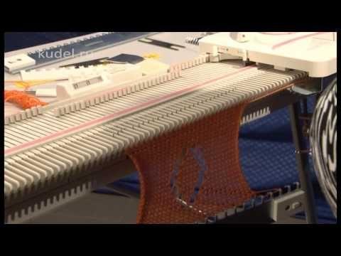 вязание на машине Сильвер лк-150 VTS_01_3 - YouTube