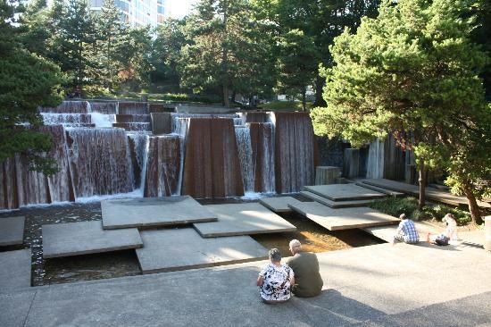 Photo of Ira Keller Fountain Park