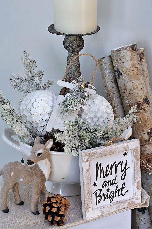diy weihnachtsdeko schlitten und kugel weihnachtsdekoration lustige geschenkideen schicke. Black Bedroom Furniture Sets. Home Design Ideas