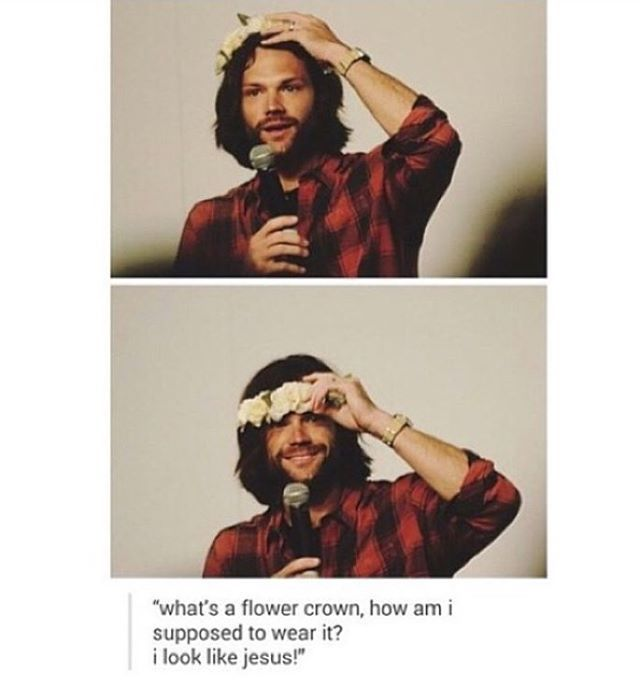I always thought Jared looked like Jesus... It was at the back of my mind and never thought too deeply into it.
