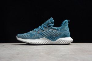Mens Adidas Alphabounce Beyond Blue White AC8624 Running Shoes ... 9952ea306f05