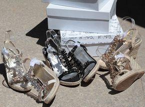 Две пары бесплатная доставка оригинальные один кекс нижний склон с коноплей дном вспышки алмазных сандалии большой размер обуви 35-41 - Taobao глобальной станции
