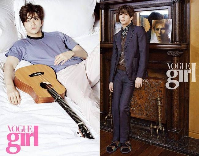"Thunder (Park Sang Hyun) Gets Casual and Formal with ""Vogue Girl"" | Koogle TV"