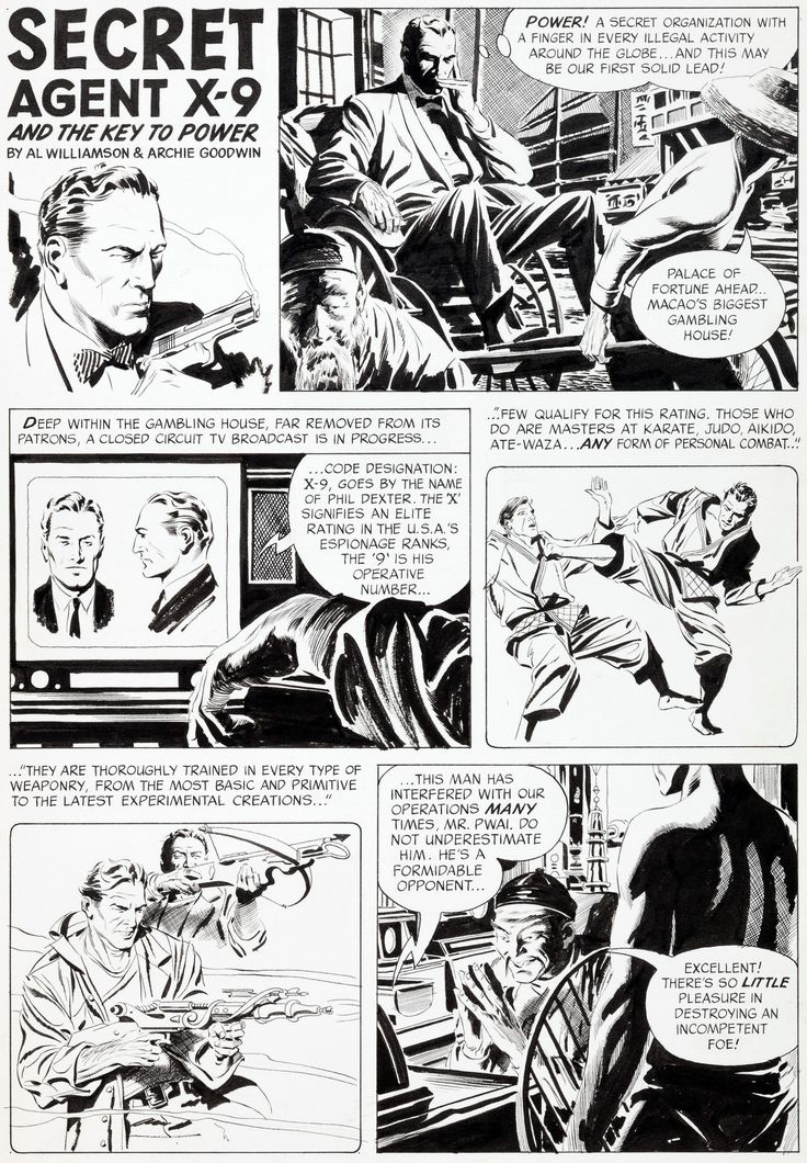 Forgotten masterpiece: Complete original art by Al Williamson (art) and Archie Goodwin (script) from Flash Gordon #4, published by King Features, March 1967.