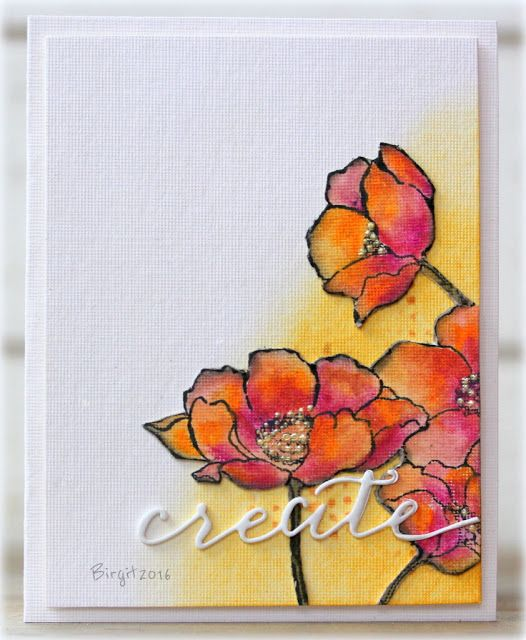 Rapport från ett skrivbord: Guest Designer for CAS Colours & Sketches