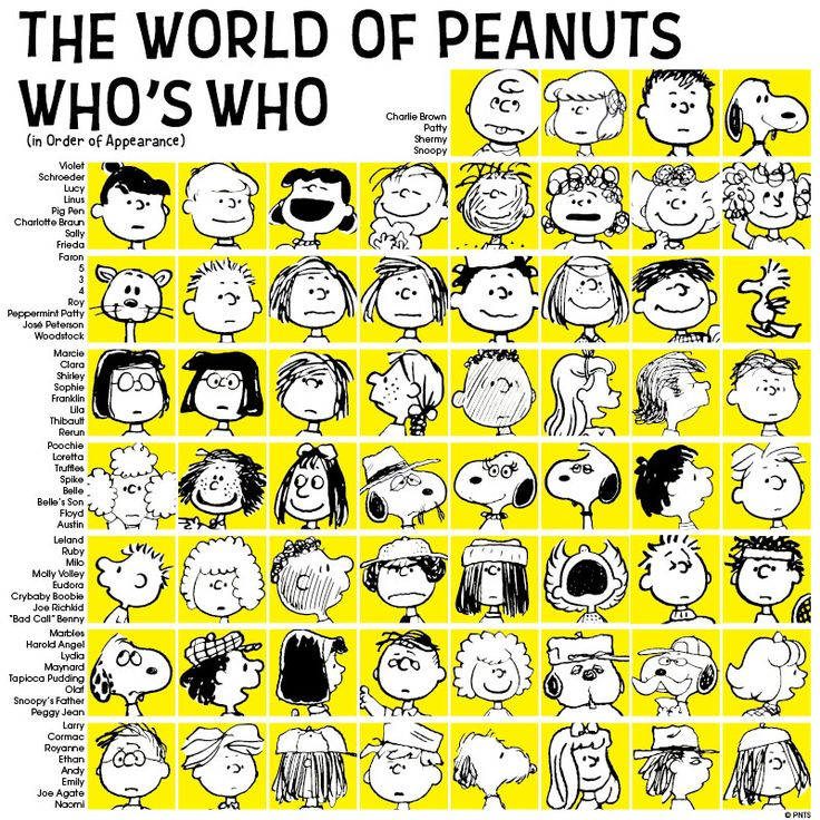 Girl Comic name original peanut strip for fuck