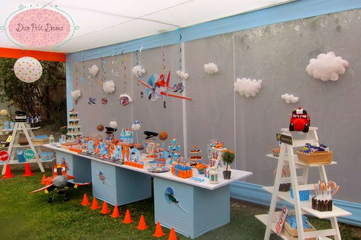 Disney Planes Birthday Party Ideas | Photo 1 of 79 | Catch My Party
