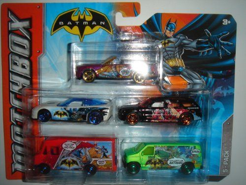 2012 Matchbox Batman 5 Pack 2007 Ford Shelby GT500 Convertible / Corvette ZR1 / Dodge Magnum R/T / Express Delivery / Chevy Van 2007 by Mattel. $6.95. 1:64