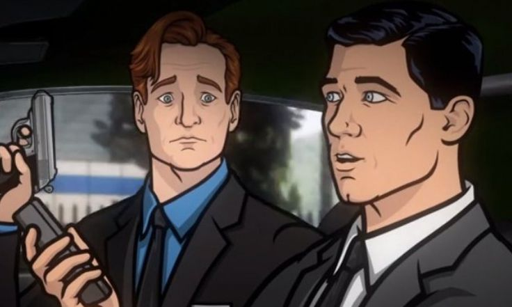 Conan O'Brien Battles Russian Mobsters With Archer