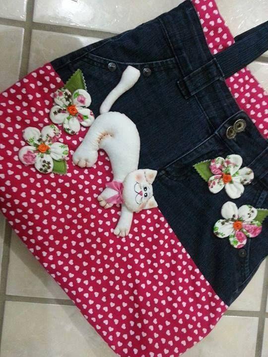 Bag  jeans  cat