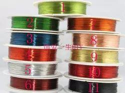 DIY ювелирных аксессуаров ювелирных изделий специальный цвет медь медь медный провод 0.5mm провод бисерные необходимо