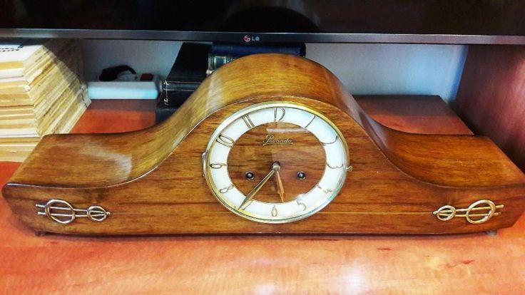 Ceas de semineu cu pendul art deco Brasov • OLX.ro