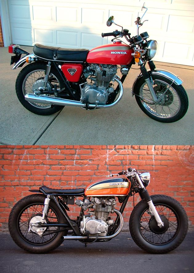 Honda CB-450 - NEXT PROJECT