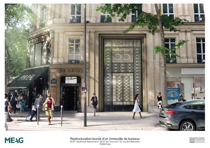 55 HAUSSMANN - Paris (75) - MO: MEAG MUNICH ERGO - Architectes: ASAA - Photographe: ASAA - NF HQE Bâtiments Tertiaires - Niveau HQE Excellent