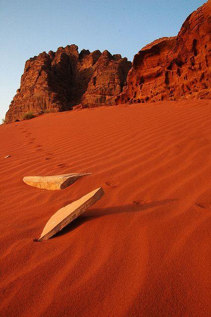 Desierto Rojo de Wadi Rum, Jordania