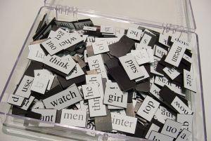 public speaking games: words