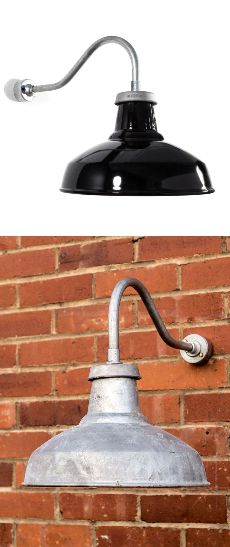Bathrooms are ided into four zones 1 2 and 3 outside zone - Outdoor Industrial Swan Neck Wall Light Gloss Black Shade