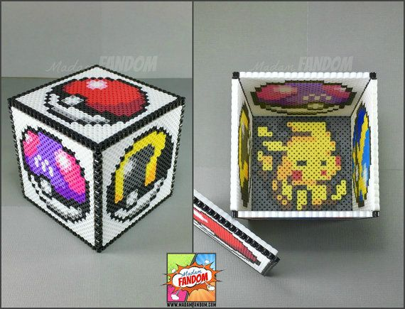 Pokemon Gift Box with Lid | Pokemon Wedding Decor | Table Centerpiece | Gamer Wedding | Gifts for Gamers | Candy Box
