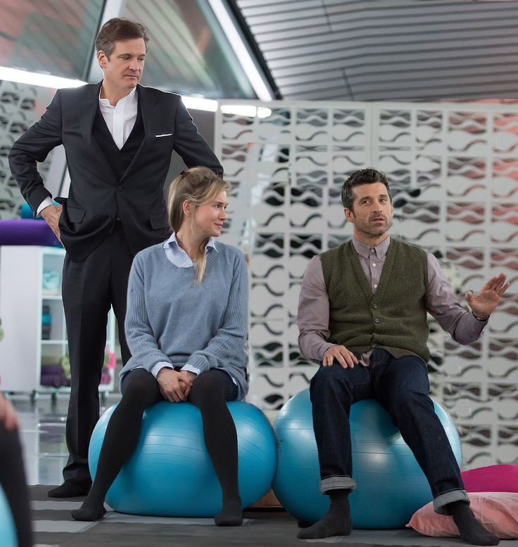 patrick dempsey latest news   The First Bridget Jones's Baby Trailer Is Here: And the Father Is ...