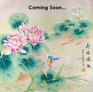 CHINESE PAINTING-LOTUS FLOWER