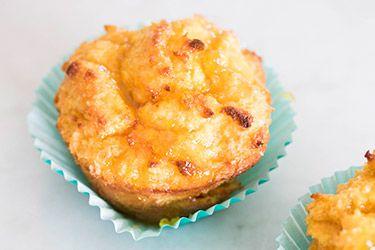 Gluten free orange and coconut baby cakes