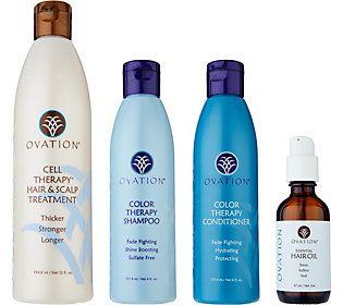 Ovation Hair's 4 Piece Repair & Replenish Kit