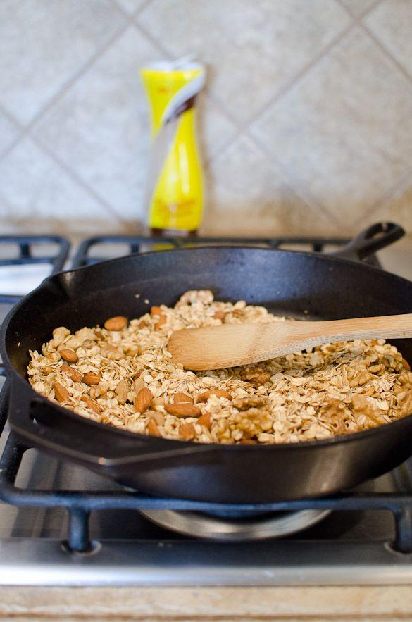15-Minute Skillet Granola Recipe