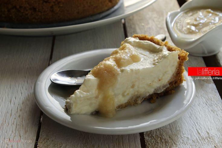 La cheesecake alle pere è un dolce semplice, dal sapore delicato e la…